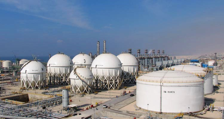 Design, manufacture and installation of spherical storage tanks, refinery and petrochemical equipment